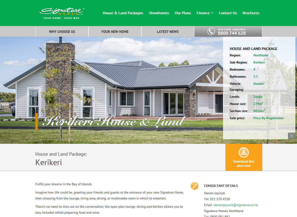 Signature Homes Zest It Drupal Wordpress Microsoft